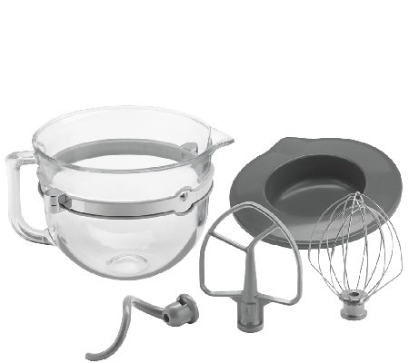 KitchenAid 6-Quart Glass Bowl Accessory Bundle