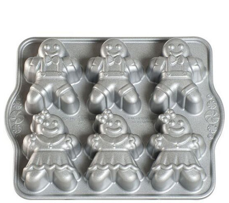 Nordic Ware Gingerbread Kids Cakelet Pan