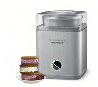 Cuisinart Pure Indulgence Frozen Yogurt/Sorbet/Ice Cream Make - K119156