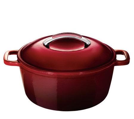 KitchenAid Cast Iron 4.5 Qt Covered Round DutchOven