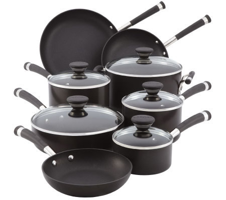 Circulon Acclaim Black 13-Piece Cookware Set