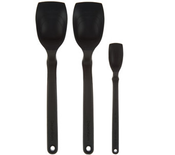 Dreamfarm Set of 3 Sit Up, Scrape, Serve & Measure Supoons - K43956