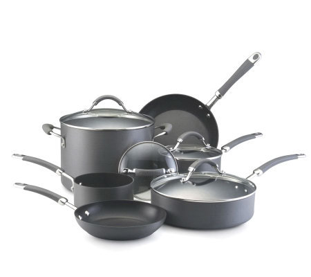 KitchenAid Hard Anodized 10-Piece Set