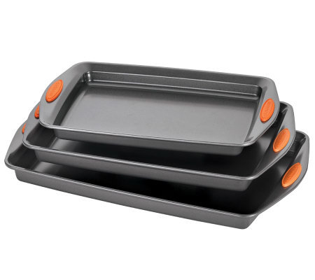 Rachael Ray Yum-o! Bakeware 3-piece Cookie PanSet