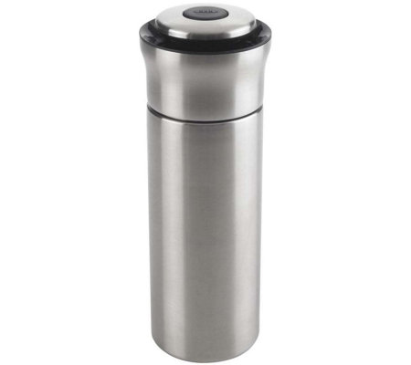 OXO Steel Press & Pour Cocktail Shaker