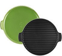 "Le Creuset 12.25""  Round Cast Iron Grill - K45457"
