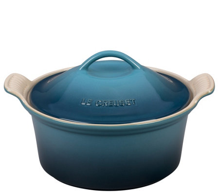 Le Creuset 3-qt Covered Heritage Coquette