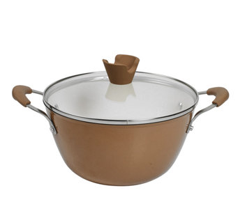 Anna Boiardi 4.4-qt Cast-Iron Enamel Covered Casserole - K303358