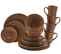 Rachael Ray Garden Sage 20-Piece Service for 4 Dinnerware Set - K43058