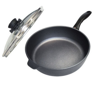 "Swiss Diamond 10"" Saute Pan with Lid - K299759"