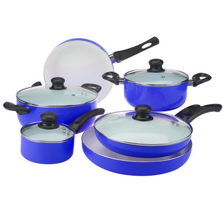 Walah 10 Piece Ceramic Nonstick Cookware Set Page 1