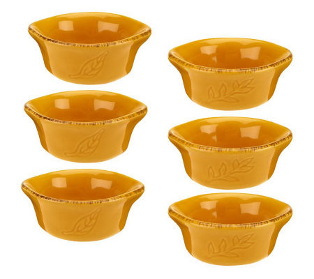 Rachael Ray Cucina Set of 6 3oz. Round Dipper Set