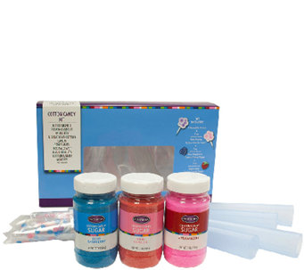Nostalgia Electrics Flossing Sugar Cotton CandyKit - K299460