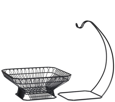 Gourmet Basics by Mikasa French Countryside Basket & Hook