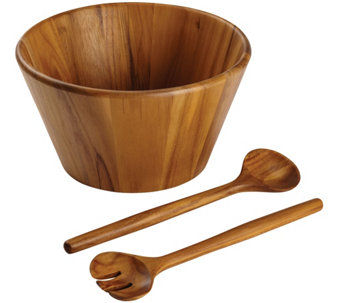 Anolon Pantryware 3-Piece Teak Wood Salad Serving Set - K305960