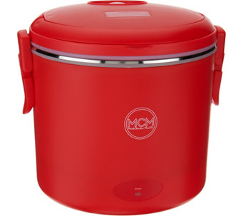 """As Is"" MCM Electric Portable Cooker w/ Steamer Insert - K307460"