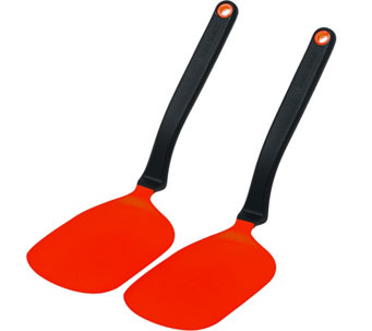 Dreamfarm Set of 2 Chopulas Sit Up, Flip & Chop Spatulas - K43960