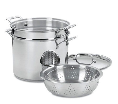 Cuisinart Chef's Classic Stainless 4-Piece Pasta-Steamer Set