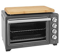 KitchenAid Countertop Oven w/ Interior Light and Cutting Boar - K376361