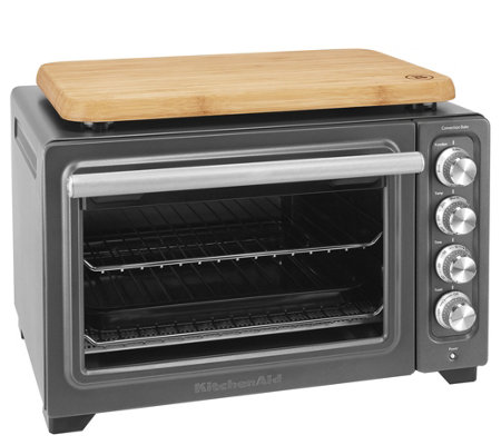 KitchenAid Countertop Oven w/ Interior Light and Cutting Boar