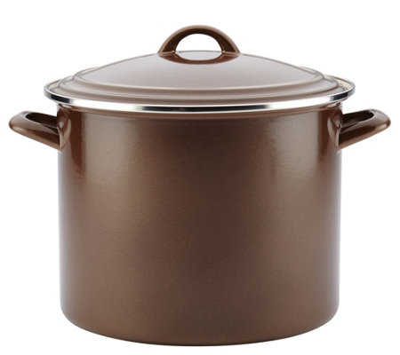 Ayesha Curry 12-qt Home Collection Enamel on Steel Stockpot