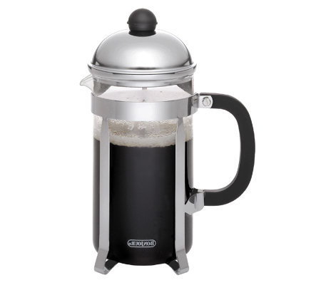 BonJour 3-Cup Monet Stainless Steel French Press