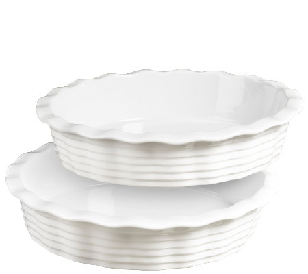 Denmark Tools for Cooks Set of 2 Pie Plates