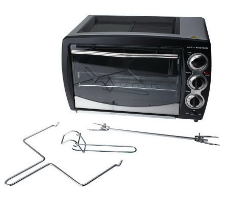 CooksEssentials 22L Convection Oven w/ Warmer & Rotisserie