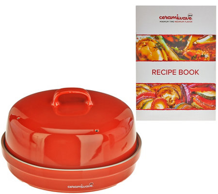 Ceramiwave Cooking System with Recipes