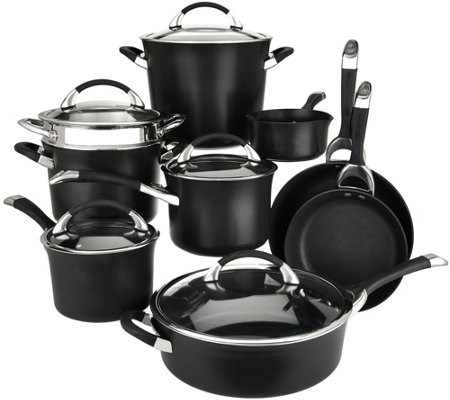 Circulon Symmetry 14-pc Nonstick Hard Anodized Cookware Set