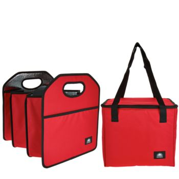 California Innovations Trunk Organizer with Removable Cooler Bag
