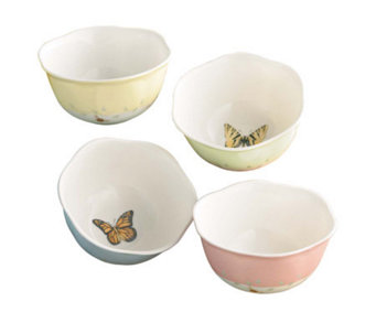 Lenox Butterfly Meadow Set of 4 Dessert Bowls - K123763