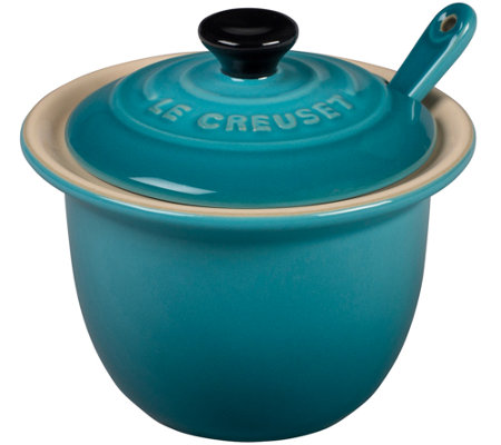Le Creuset Condiment Pot with Spoon