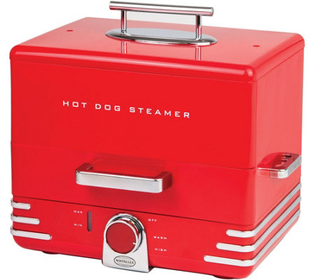 Nostalgia Electrics Diner-Style Hot Dog Steamer