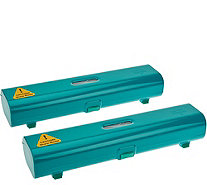 Kuhn Rikon Set of 2 Plastic Wrap & Foil Dispenser - K44763