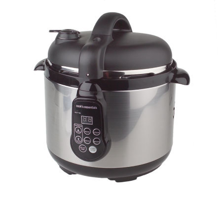 CooksEssentials 5qt Digital Pressure Cooker w/ Accessories