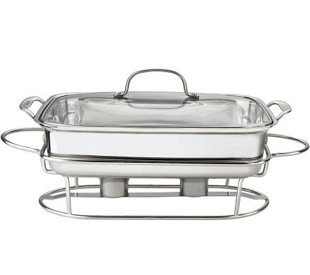 Cuisinart Stainless Steel 5-quart Rectangular Buffet Server
