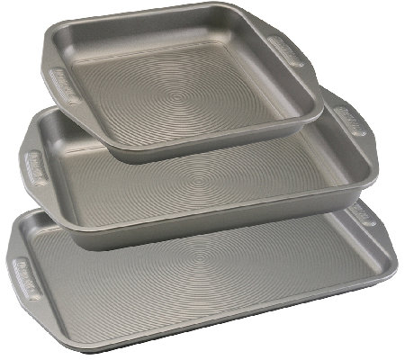 Circulon Nonstick Bakeware Three-Piece BakewareSet