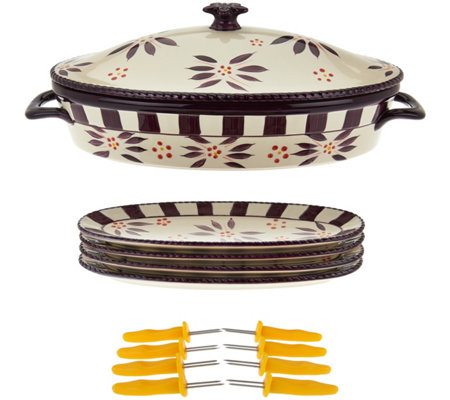 Temp-tations Old World Corn Cob Baker Set