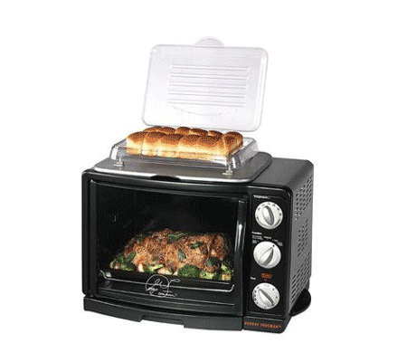 George Foreman GRV660 8-in-1 Toaster Oven/Broiler