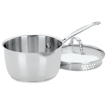 Cuisinart Chef's Classic Stainless 2-qt Saucepan with Cover