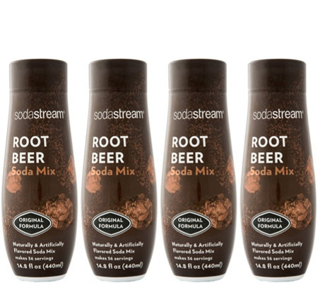 SodaStream Fountain Style Root Beer Sparkling Drink Mix