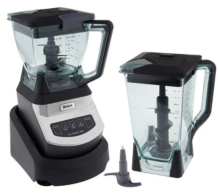 Ninja Kitchen System 1100 Watt 72 oz Blender w/ 40 oz Bowl