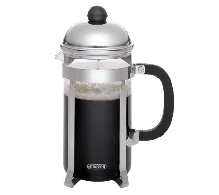 BonJour 12-Cup Monet French Press - Black