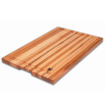 "Solid Edge Grain Maple 16"" x 24"" x 1-1/4"" Cutting Board - K129966"