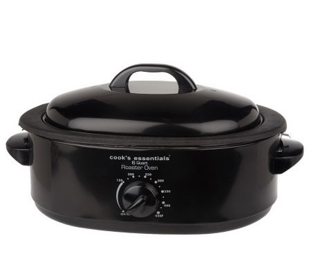 CooksEssentials 6 Quart Nonstick Roaster Oven