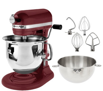 KitchenAid 6 qt. 575 Watt Bowl Lift Stand Mixer w/ Combi-Whip - K43066
