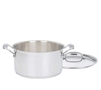 Cuisinart Chef's Classic Stainless 6-qt Stockpot with Lid - K129867