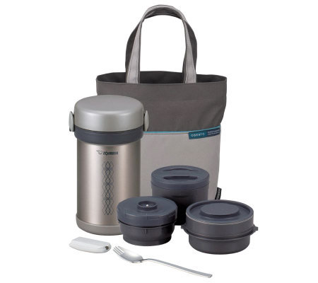 Zojirushi Insulated 3-Piece Lunch Jar with ToteBag