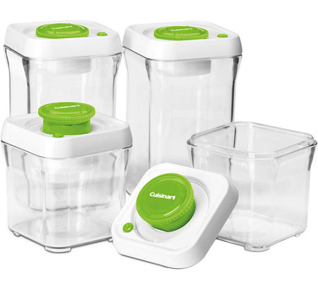 Cuisinart 8-pc Vacuum-Seal Food Storage Container Set